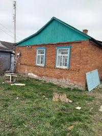 Продам дом саман обложен кирпичом 48 м 2, 12 соток. Цена 800т. рублей