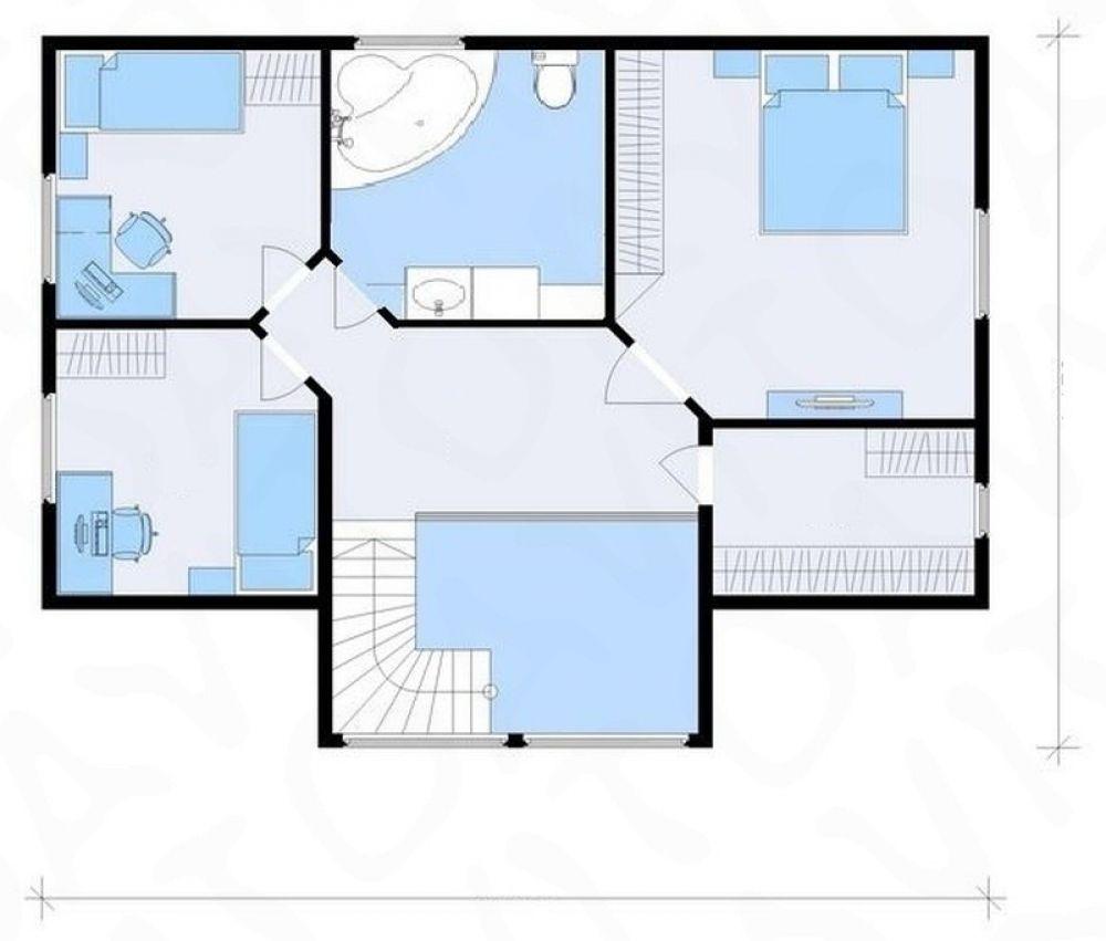 Дом 140 м2 , участок 5 соток, д. Большие Жеребцы, фото 5