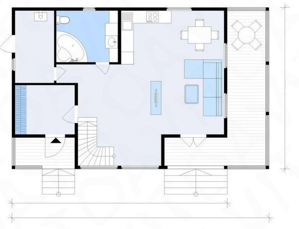 Дом 140 м2 , участок 5 соток, д. Большие Жеребцы, фото 4