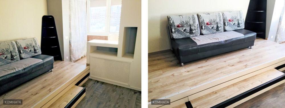 Однокомнатная квартира-студия, 33 м2,  микрорайон Богородский, 16, фото 13