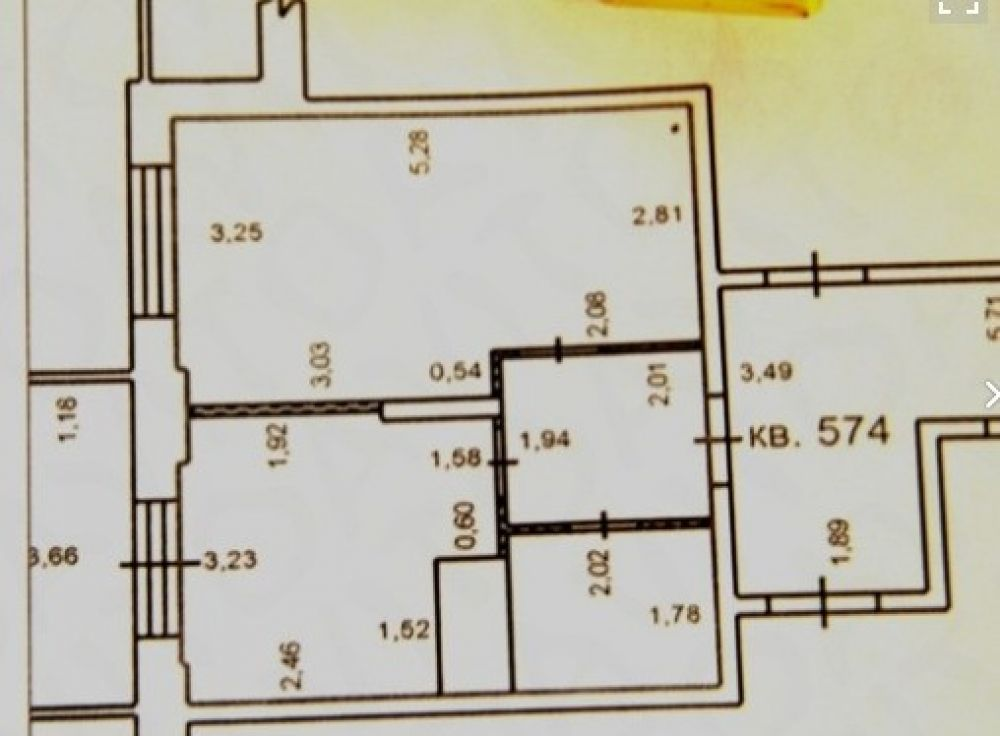 Однокомнатная квартира микрорайон  Богородский  д2 35 кв.м., фото 1