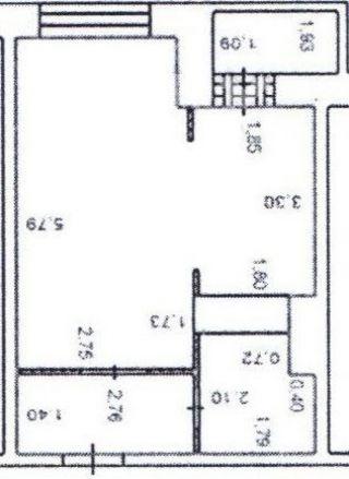 1-к квартира, поселок Свердловский, Строителей д.6