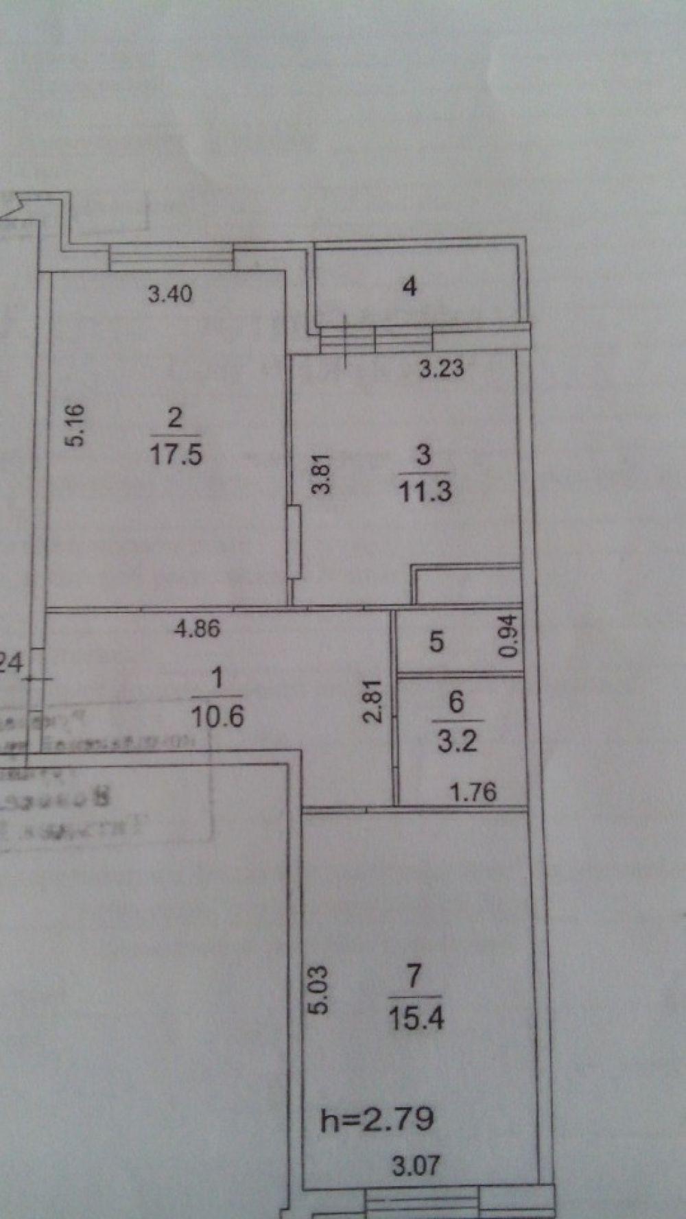 2-к квартира, Щелково, микрорайон Богородский, 6, фото 18