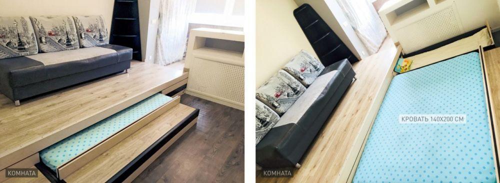 Однокомнатная квартира-студия, 33 м2,  микрорайон Богородский, 16, фото 15