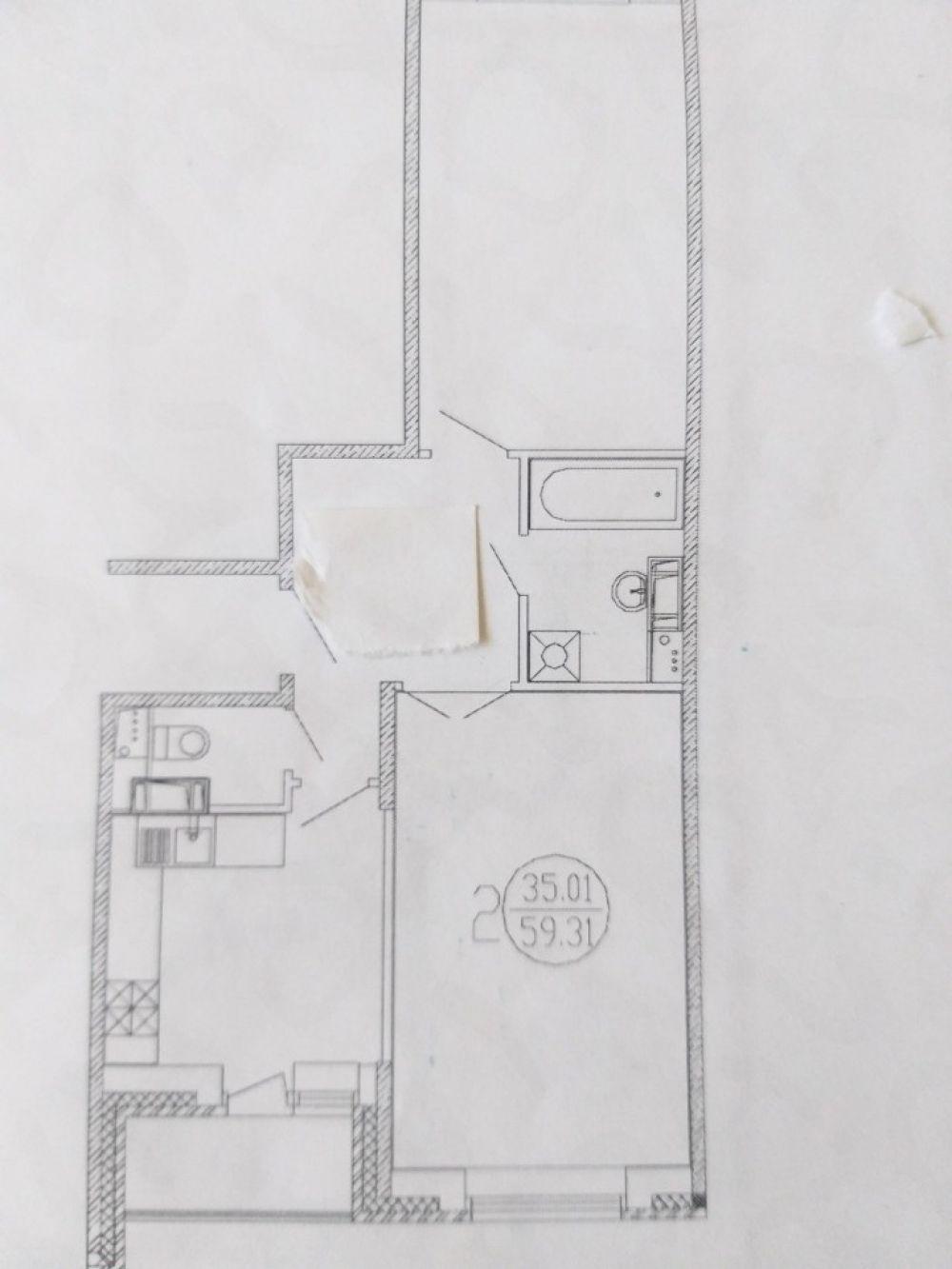 2-к квартира, Щёлково, Центральная улица, 17, фото 9