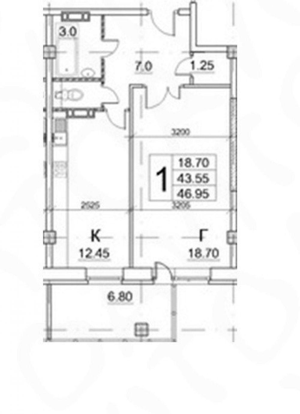 Продается 1-к квартира в Щелково 47 кв.м ул. Радиоцентр дом 17, фото 11