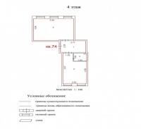 Продаётся 2 ком. квартира, Чехов г, ул. Гарнаева ул, 20, 57м2 - ID 10002845