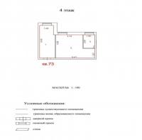 Продаётся 1 ком. квартира, Чехов г, ул. Гарнаева ул, 20, 37м2 - ID 10002844