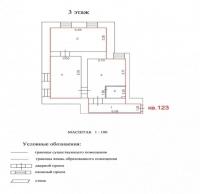 Продаётся 3 ком. квартира, Чехов г, ул. Гарнаева ул, 20, 53м2 - ID 10002874