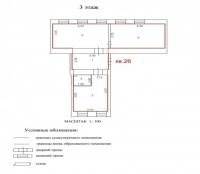 Продаётся 3 ком. квартира, Чехов г, ул. Гарнаева ул, 20, 73м2 - ID 10002808