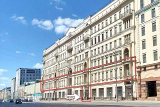 Аренда офиса 1407,1 м² ст. метро Маяковская