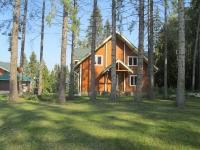 Коттедж в элитном закрытом поселке из клееного бруса на берегу реки Волга 8 км от Ярославля
